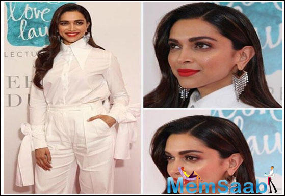Bollywood actress Deepika Padukone, who has been very open about going through anxiety and depression in the past, was recently in New Delhi where she launched her first lecture series on mental health.