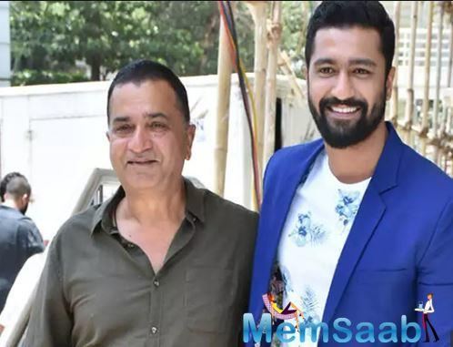 Vicky Kaushal, whose father is the well-known action director Sham Kaushal, has said that he is proud to be a technician's son.