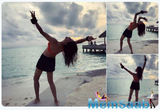 Recently, she shared new pictures from her holiday and it is something you don't want to miss!