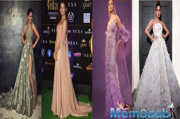 IIFA 2019 sure was a star-studded evening and saw the presence of a number of Bollywood celebrities like Deepika with hubby Ranveer, Alia Bhatt, Sara, Neena Gupta, Genelia with hubby Riteish and many others.