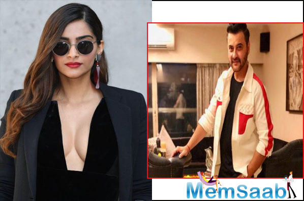 In the film, Sanjay is playing the father of Zoya, played by Sonam.