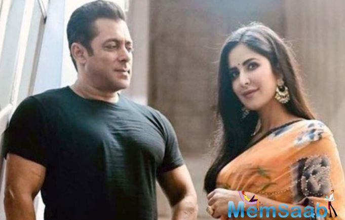The actress opened up about her past relationship with her Bharat co-star Salman Khan.