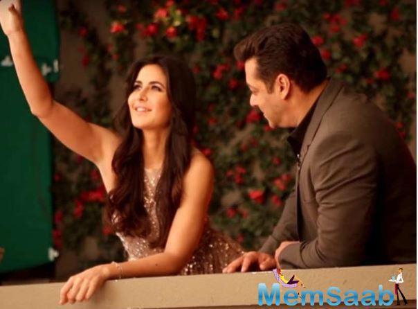 Salman and Katrina worked for the first time in Maine Pyaar Kyun Kiya in 2005.