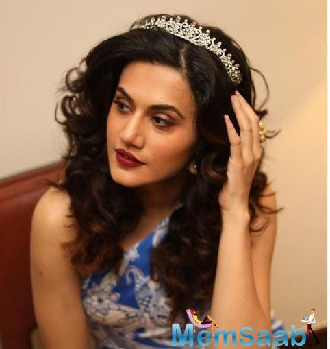 Taapsee Pannu wants to dedicate her next film 'Saand Ki Aankh' to her mother because while working in the film, she realised the countless sacrifices a woman makes to run her family.