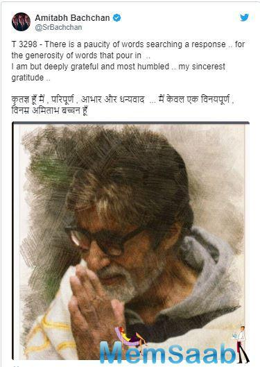 Amitabh Bachchan means different things to different fans.