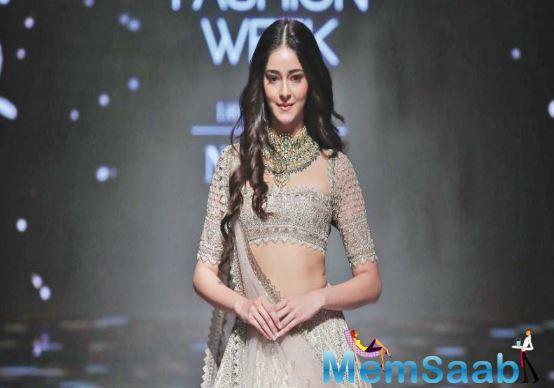 Ananya Panday is multitasking these days. The actress, who was shooting for Pati Patni Aur Woh in Lucknow, was also prepping for her next big film with Ishaan Khatter titled Khaali Peeli.