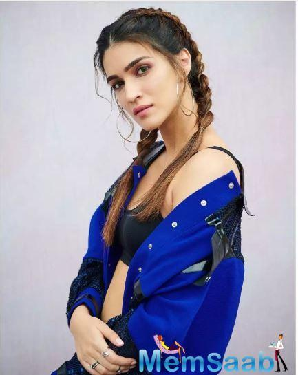 Kriti Sanon recently made headlines for the character poster of her forthcoming film 'Housefull 4'.