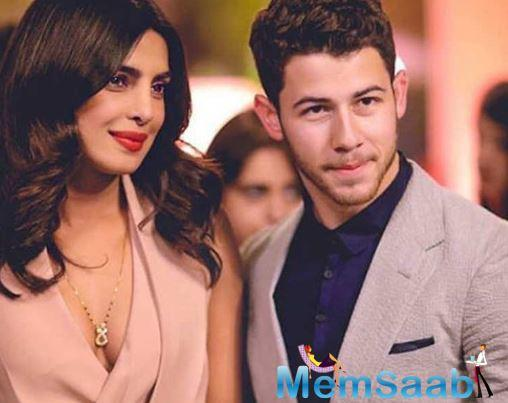 Priyanka also went on to add that Nick had joined her on the sets of the film on the last day of their shoot.
