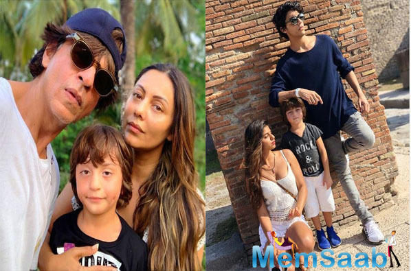 "Talking about AbRam Gauri said, ""AbRam is not going to the spaces where the paps are."