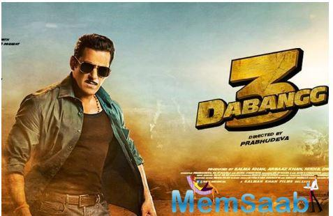 Directed by Prabhudeva, Dabangg 3 is produced by Salman Khan, Arbaaz Khan and Nikhil Dwivedi under the banner of Salman Khan Films and is slated to release on December 20, 2019.