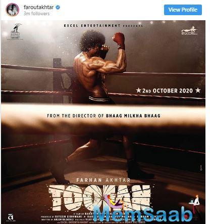 What will be interesting to see here is how Mehra and Anjum Rajabali, who has written the film, make Toofan different from the other films that have been made on the same subject.