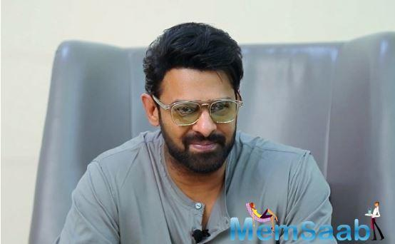 Speaking about Saaho's screenplay Prabhas shared that it's not an easy job to write and execute the screenplay.