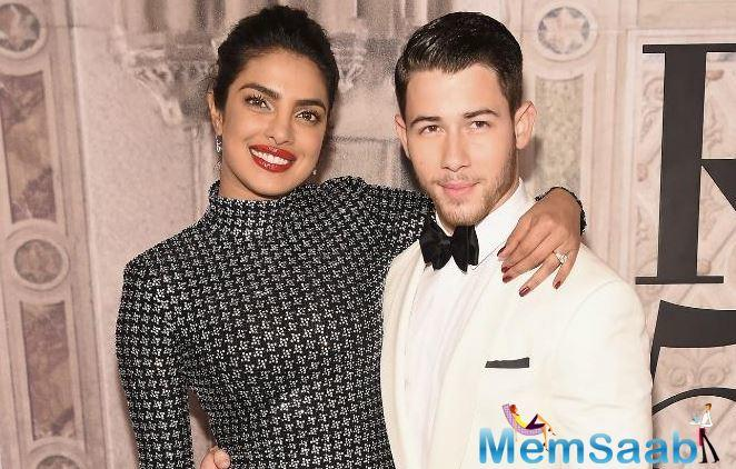 Then, he asked Priyanka if Nick had touched the feet of his mother-in-law, Priyanka's mother Madhu Chopra, or did he settle on blowing air kisses at her when they met.