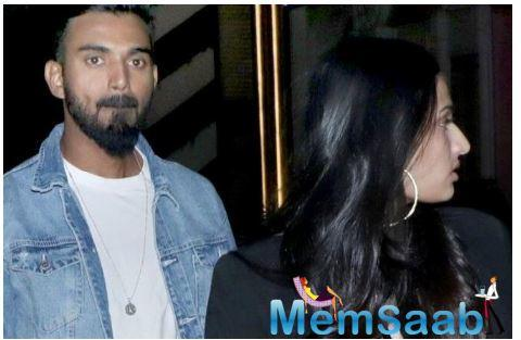 Is Athiya Shetty dating cricketer KL Rahul? The whispers are doing the rounds ever since Suniel Shetty's daughter was spotted stepping out for dinner with the Indian batsman on Friday night.