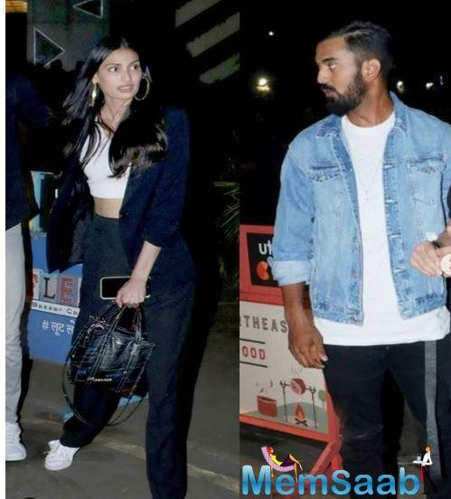 A few months back, a picture of the two with buddy Akansha Ranjan Kapoor was doing the rounds that started the rumours of their relationship.