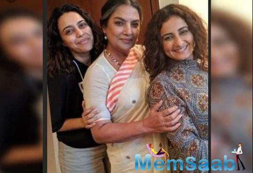 Earlier, when the film's maker Faraz Arif Ansari was asked about having Divya Dutta on board, he said that she was their only choice.