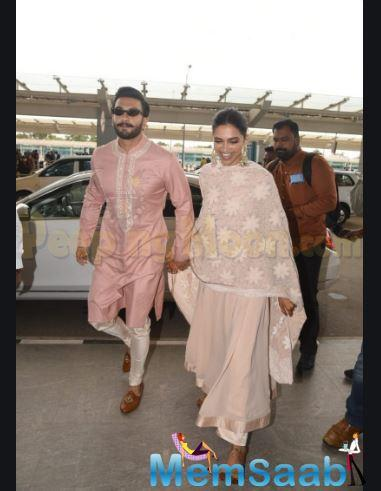 Deepika Padukone and Ranveer Singh got married in 2018 and later this month, the couple will be celebrating their first Diwali together after marriage.