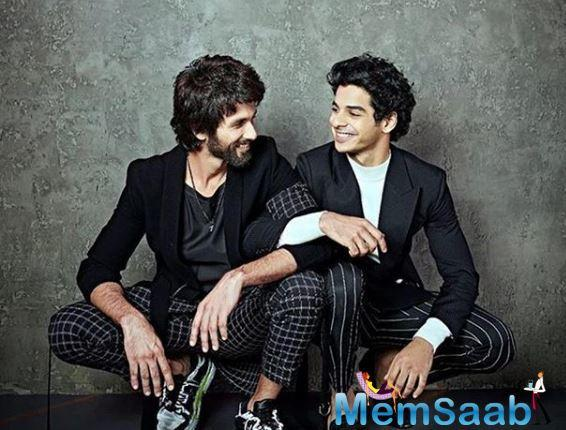 Ishaan made his debut in Iranian maestro Majid Majidi's 2018 film, Beyond the Clouds, and his first Bollywood release was the Karan Johar-produced Dhadak last year.