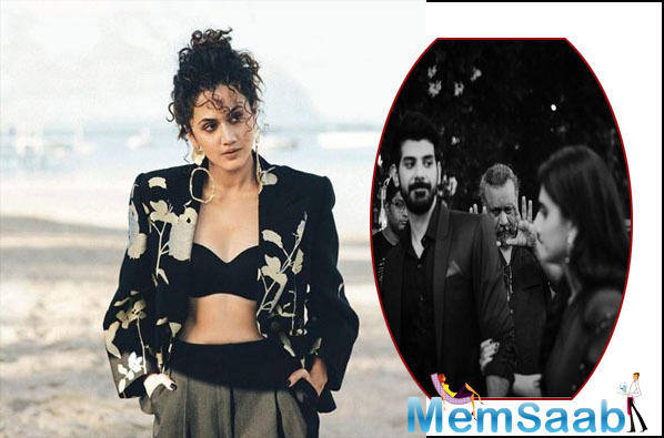 Taapsee's first collaboration with Anubhav 'Mulk' had released on August 3, 2018, features Rishi Kapoor, Prateik Babbar, Rajat Kapoor, Manoj Pahwa and Neena Gupta in pivotal roles.