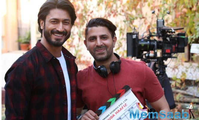 The filming has commenced in Uzbekistan. It is the first time Vidyut will be venturing into a true-blue romance-action genre, read a statement.