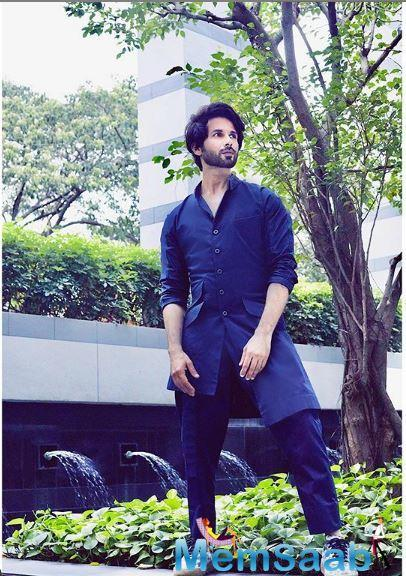 Shahid's last outing Kabir Singh became one of the biggest hits of this year minting over Rs 250 crore at the Box Office.