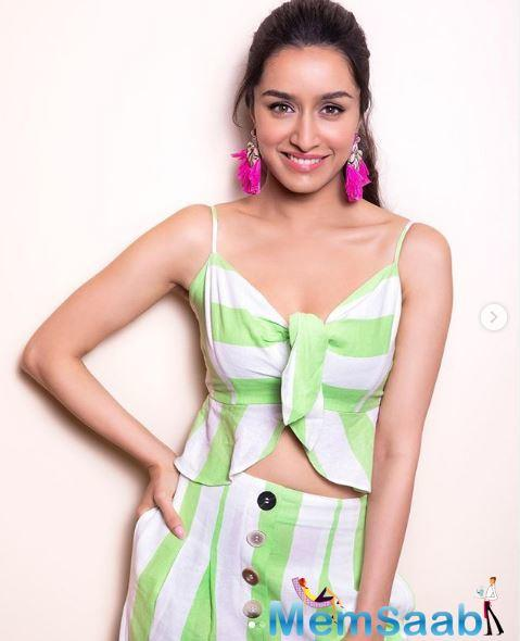 In an earlier interview, Shraddha said that she is excited to be a part of this movie.