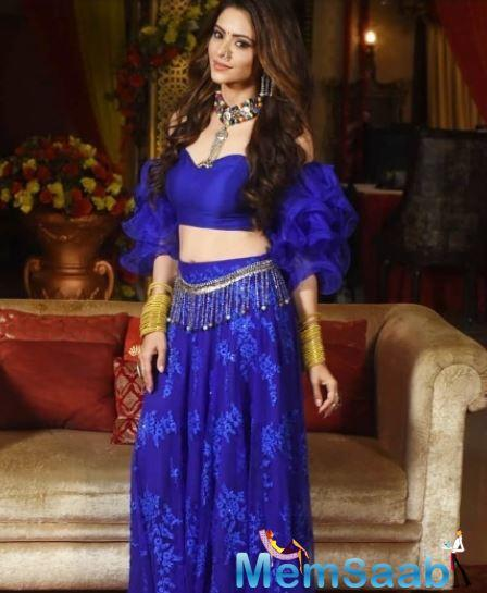 In an interview, when Aamna was asked if she is excited about experimenting with her character, she said,