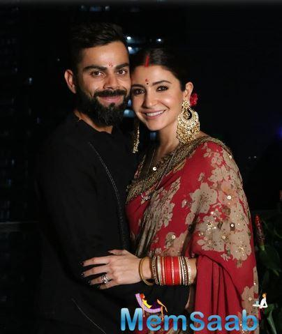 She had recently shared a gorgeous picture of herself with her darling husband Virat Kohli as they celebrated Karva Chauth together.