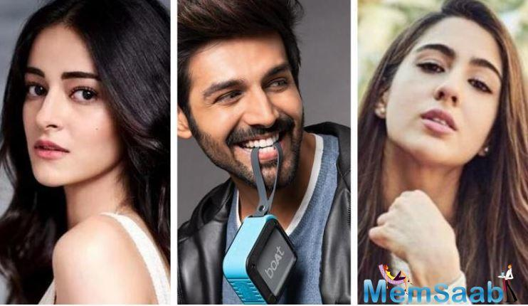 Sara Ali Khan and Kartik Aaryan have been creating love speculations ever since they began shooting for Imtiaz Ali's tentatively titled, 'Aaj Kal'.