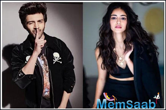 Kartik Aaryan and Ananya Panday are all set to entertain us with her next film 'Pati Patni Aur Woh'.