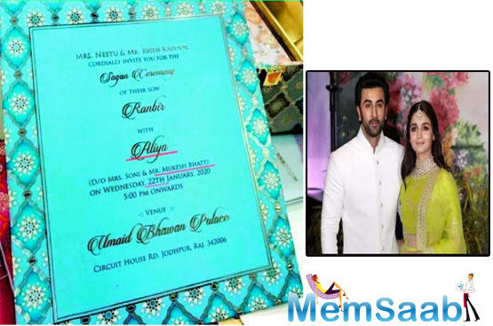Tuesday began on a rather shocking and surprising note, with social media buzzing with Ranbir Kapoor and Alia Bhatt's wedding invitation.