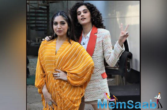 Taapsee Pannu and Bhumi Pednekar's ambitious project, 'Saand Ki Aankh' is inching towards its big release.