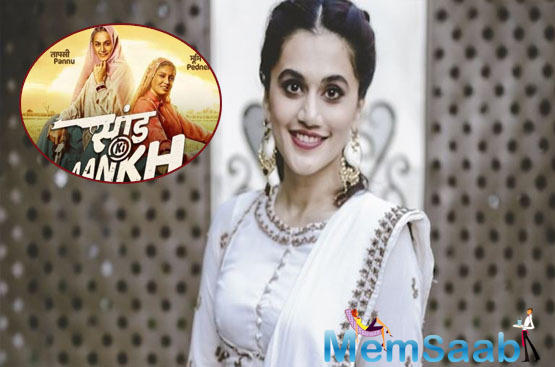 Taapsee Pannu has her own clarification on the film and the controversy around it.