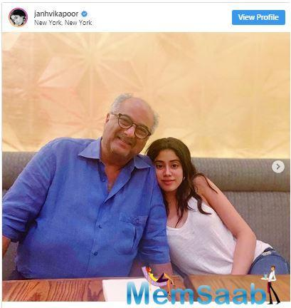 Meanwhile, on the work front, Janhvi Kapoor will be next seen in Gunjan Saxena, where the actress is portraying a real-life person for the first time in her career.