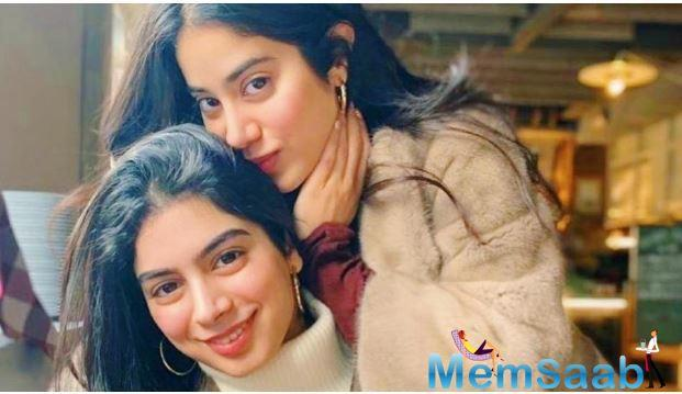 The picture seems to have been clicked last month when Janhvi had visited her baby sister. The girls were joined by father Boney Kapoor for a mini-vacation in the city. Janhvi shared a set of pictures with Boney and Khushi on Instagram.