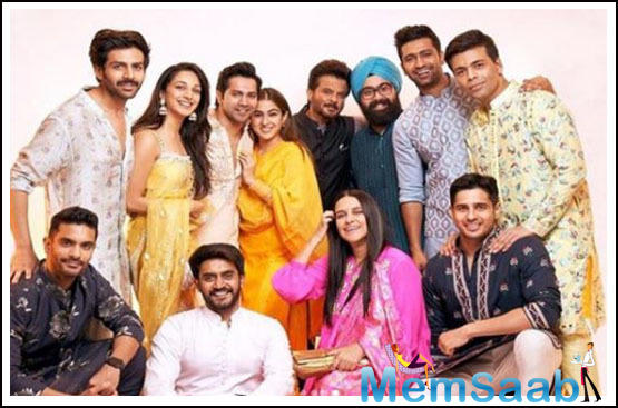 Other celebrities who marked their presence at the Diwali bash included Arjun Kapoor and Bhumi Pednekar. Neha Dhupia along with her husband Angad Bedi too graced the party.