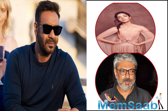 These developments took place last week when Ajay and Bhansali met up at Anand Pandit's Diwali party. The two were seen chatting for hours and continued their meeting at SLB's office a few days later.