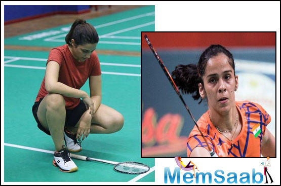 The Saina Nehwal biopic is directed by Amole Gupte and is being produced by T-series.