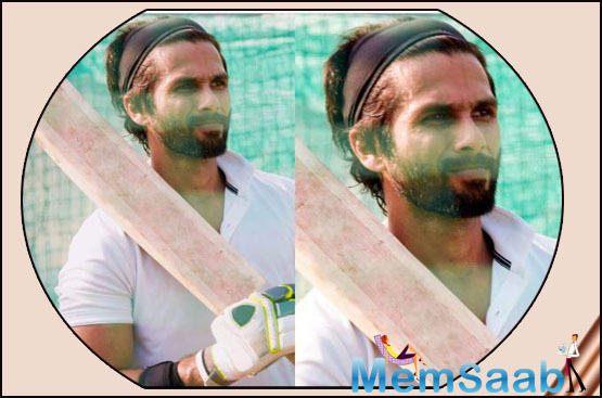 According to reports, Shahid is learning everything there is to know about the game by regularly going for the cricket sessions.