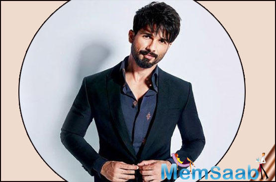 """Taking to his Instagram handle, Shahid shared a photo of himself behind the nets in a white jersey and holding up a cricket bat. """"#jersey the prep begins"""" he captioned the photo."""