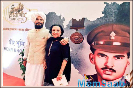 Randeep shared this throwback picture on the account of Haryana Day.