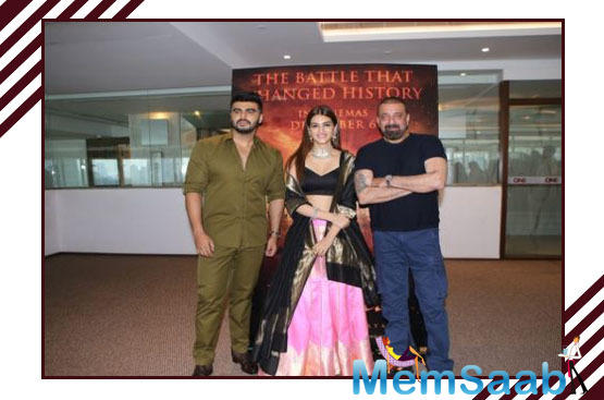 Everyone is looking forward to seeing Arjun Kapoor and Sanjay Dutt face off in the historical drama Panipat.