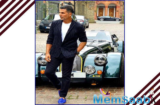 Akshay, however, said he still feels anxious before the release of his films as a lot of money, hardwork and expectations are invested in every single project.