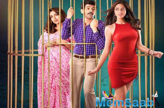 After treating the audience with a few alluring posters of the film, the makers of 'Pati Patni Aur Woh' are all set to drop the very interesting trailer today.