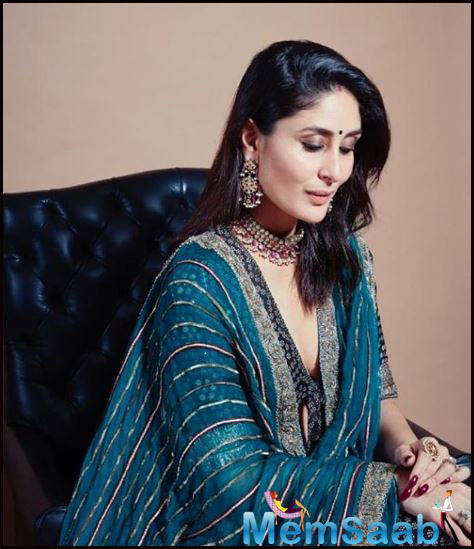 B-town's glamorous diva Kareena Kapoor Khan who has time and again stunned us with her impeccable performances and fashion sense.
