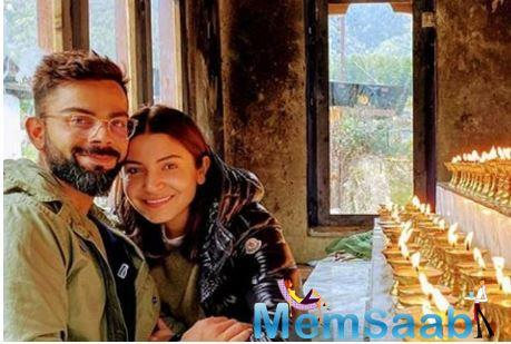 The couple is currently in Bhutan for a trip that has actually turned out to be a life-changing experience for both husband and wife.