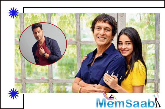 In a chat show recently, Ananya yet again confessed to her never-dying love for the actor. She also stated that she has a huge crush on Varun.