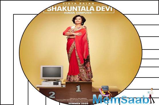 The film stars 'Badhaai Ho' fame Sanya Malhotra, who will be seen essaying the role of Shakuntala Devi's daughter.