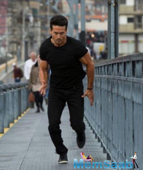 The actor is all set and has kick-started shooting for his home franchise Baaghi 3 in Serbia.