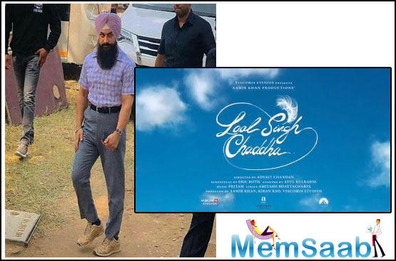 Aamir Khan made waves when he unveiled the logo of his upcoming film Laal Singh Chaddha. The film, which is the Hindi adaptation of Forrest Gump, also features Kareena Kapoor Khan in the pivotal role.